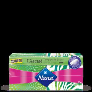 Tampons Nana Discret Super